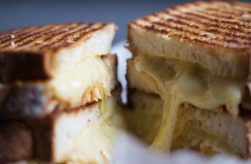 Grilled Cheese and Kimchi Toastie