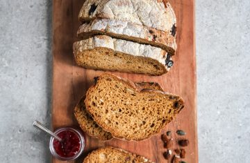 Baked In-Store Seeds and Fruit Sourdough