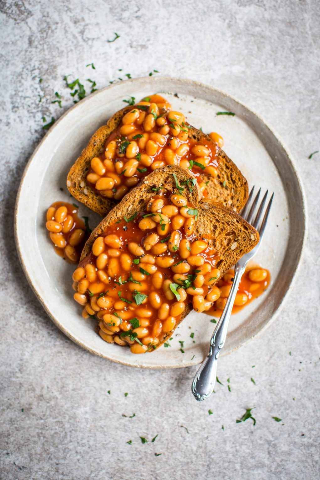 Promise Gluten Free High Protein Dinner Beans on toast